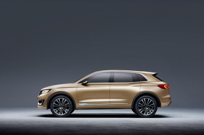 Lincoln MKX Concept Side Profile 022 660x438
