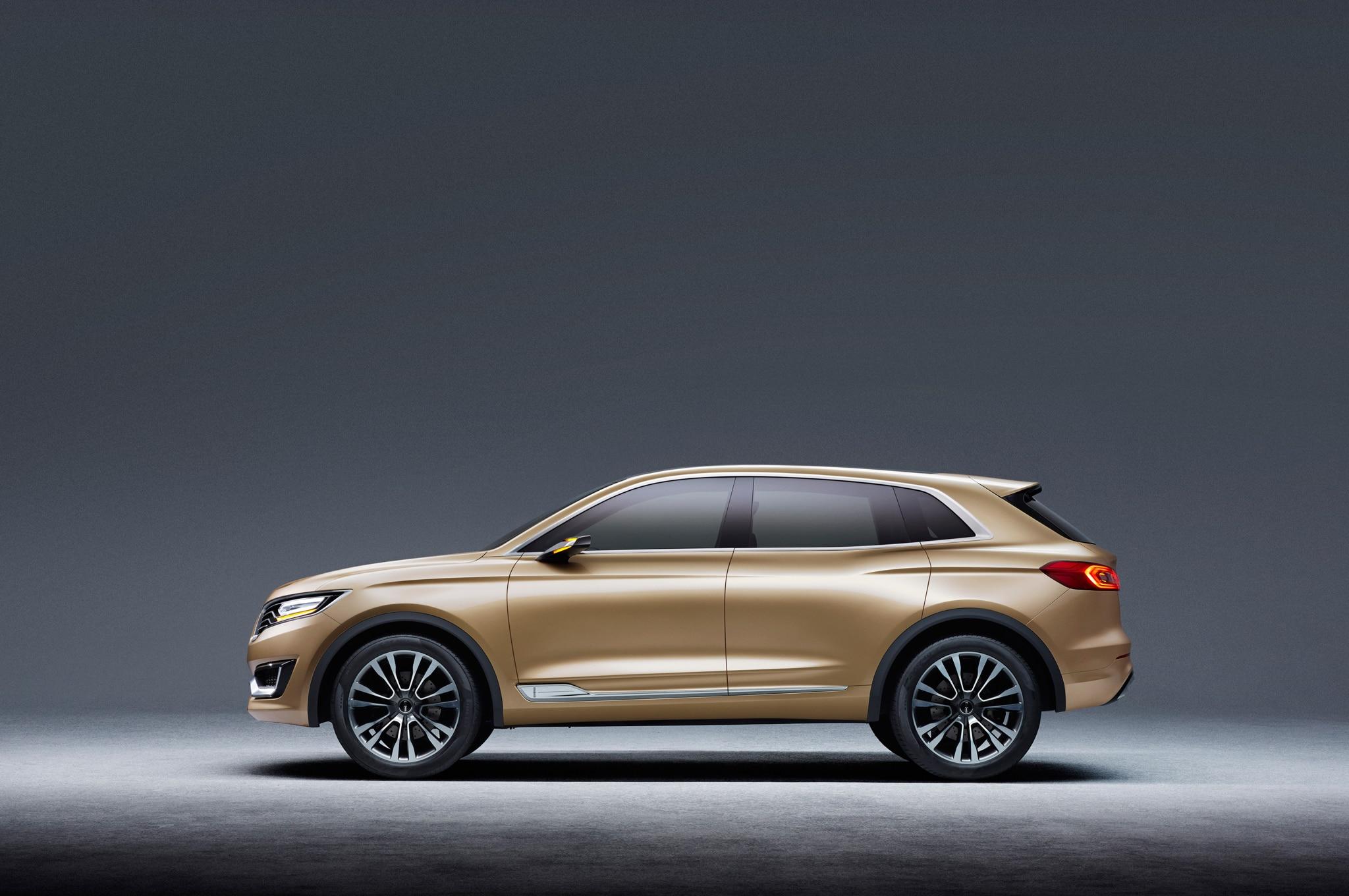 Lincoln MKX Concept Side Profile 022