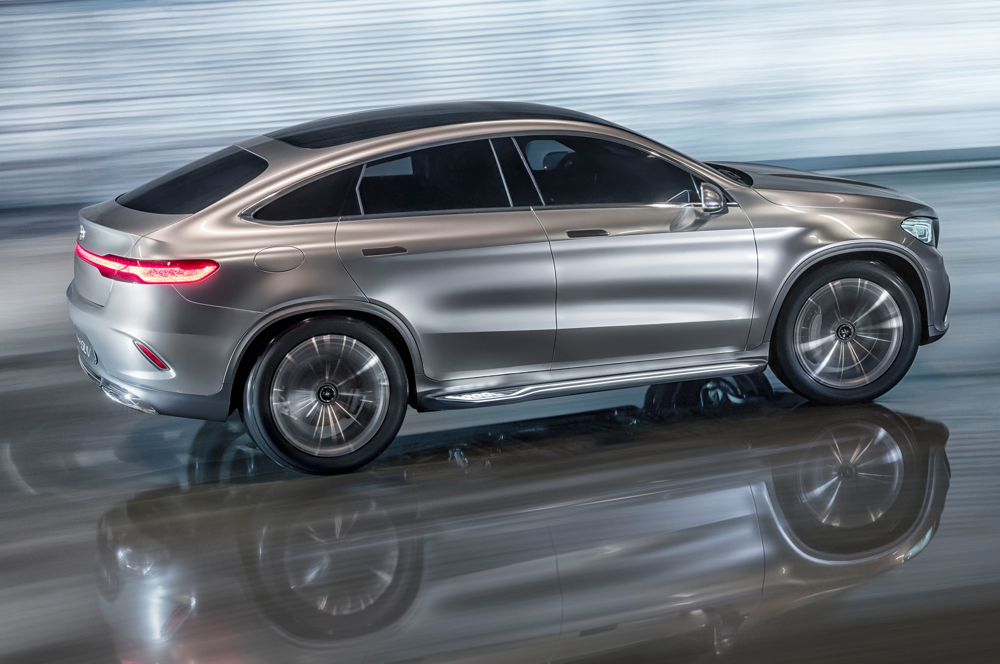 Mercedes Benz Concept Coupe SUV Revealed in Beijing Automobile