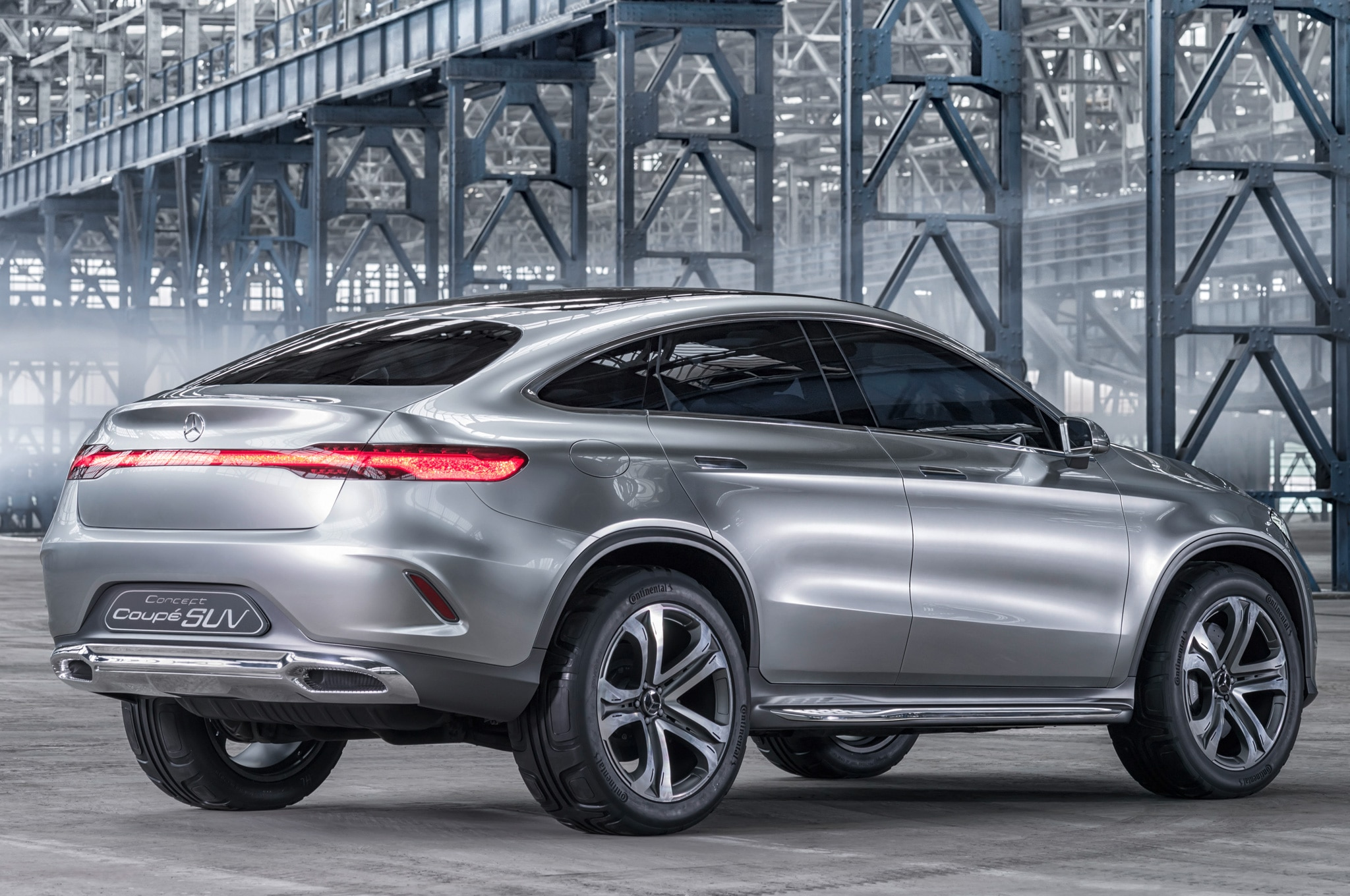 mercedes benz concept coupe suv rear side view static - Mercedes Benz Suv 2014 Interior