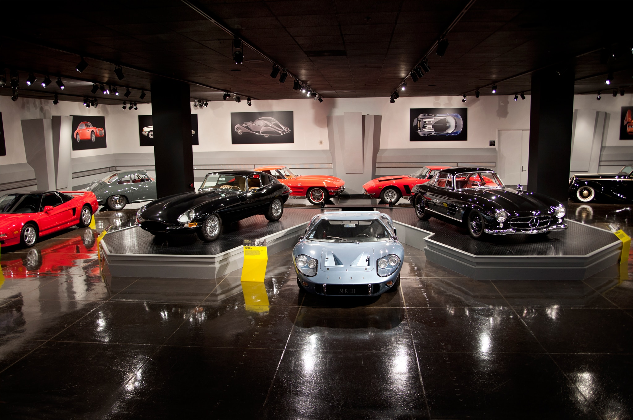 Sports Coupe Exhibit Group Shot
