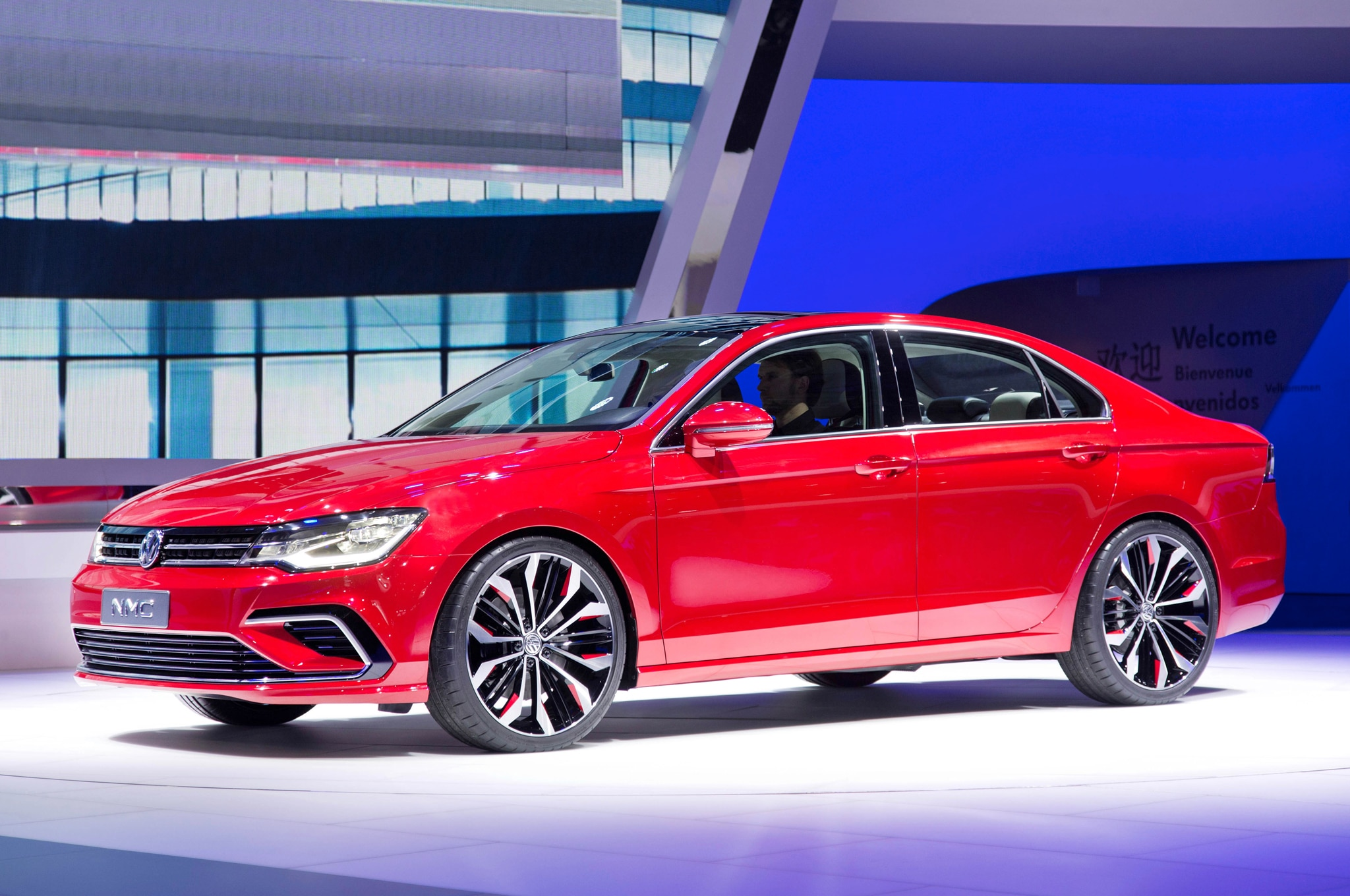 Volkswagen New Midsize Coupe Concept Front Three Quarters1