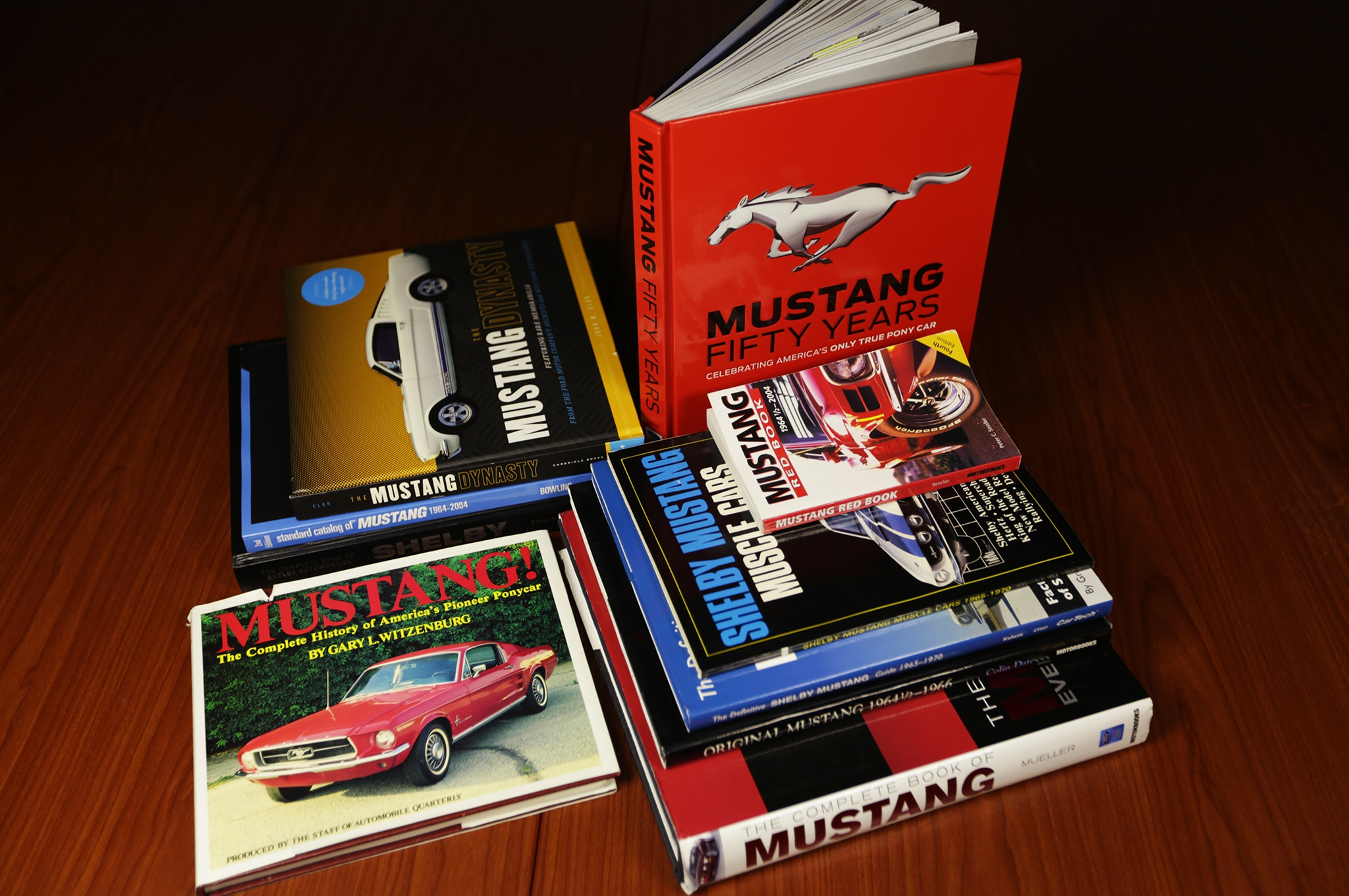 Ford Mustang Book Review Group Shot