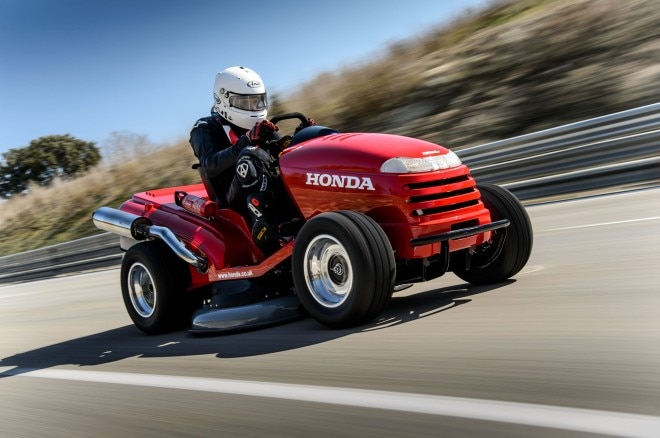 Honda Mean Mower Guinness World Record 4 In Motion