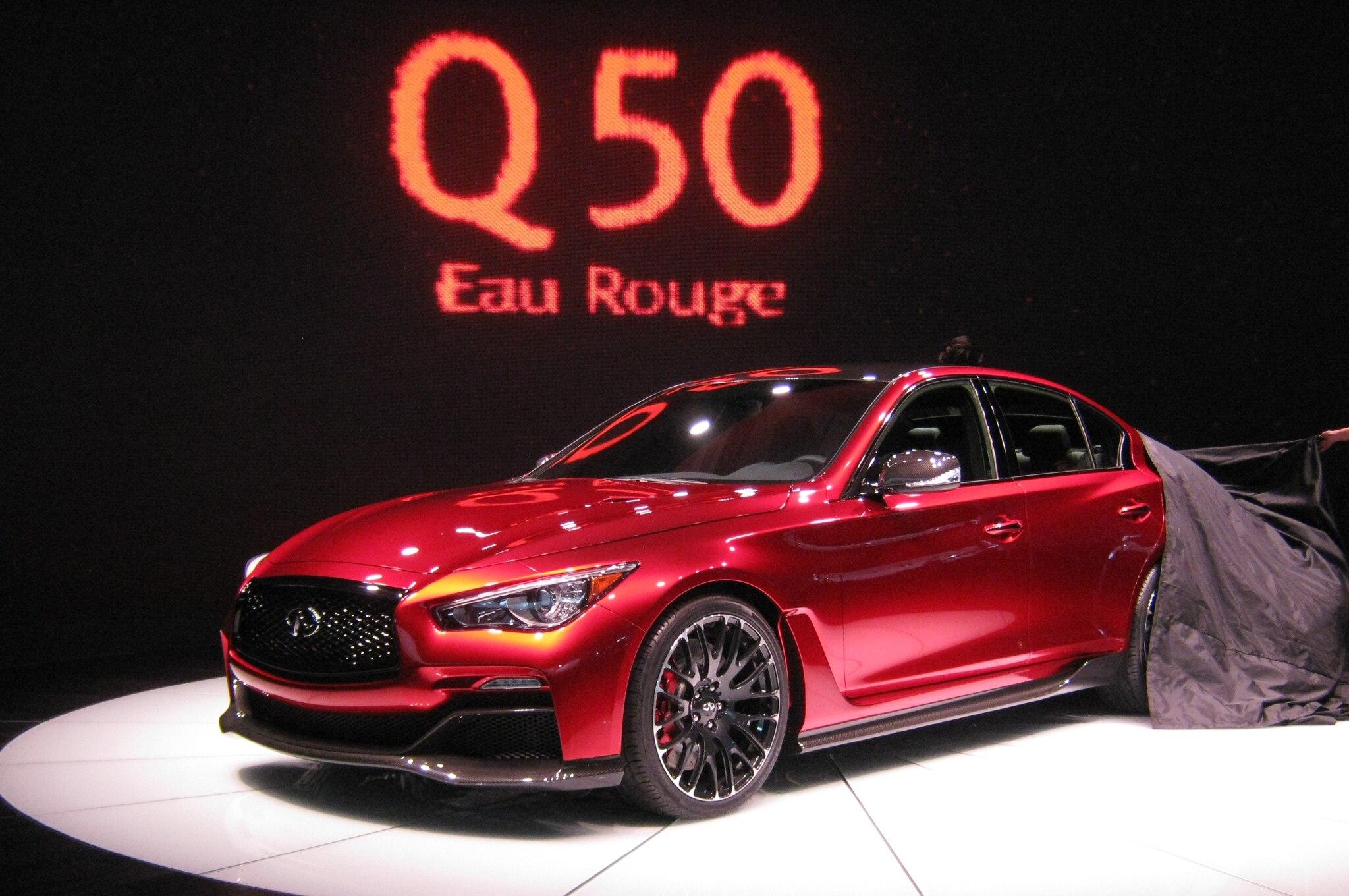 Infiniti Q50 Eau Rouge Concept Unveil1