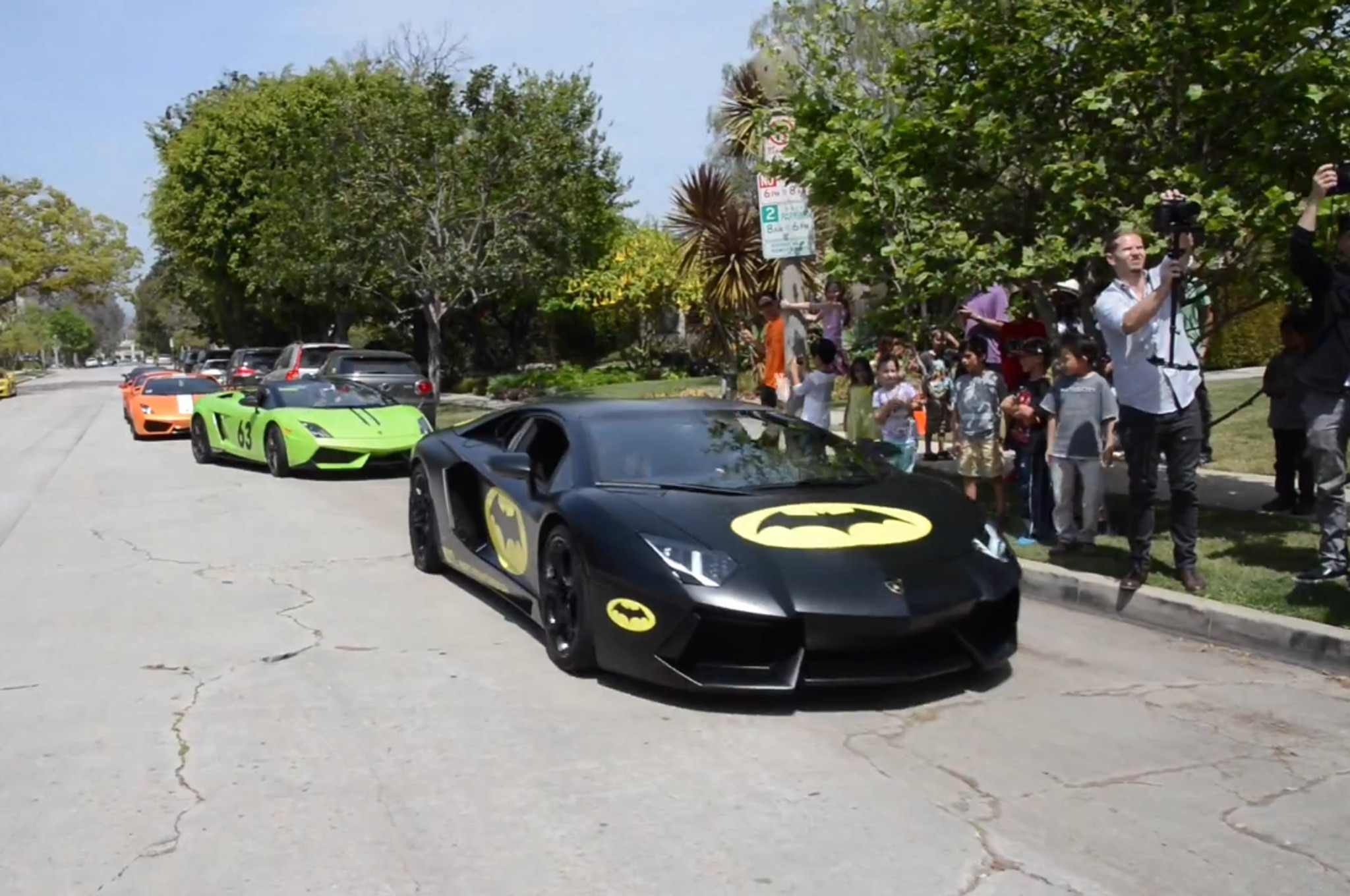 Lamborghini Birthday Party Video