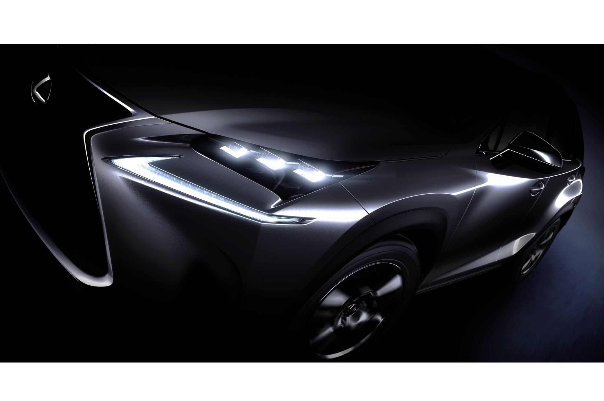 Lexus Nx Teaser Beijing