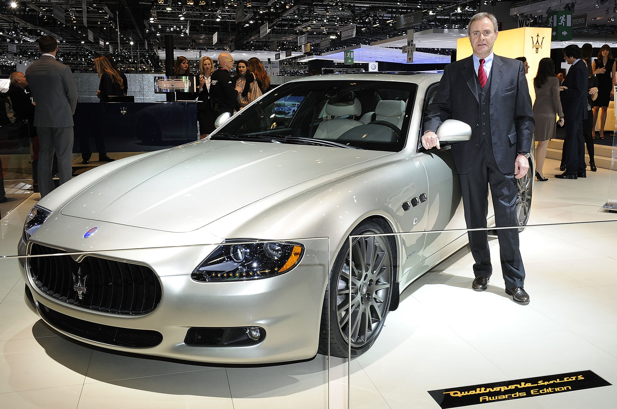 Maserati Ceo Harald J Wester