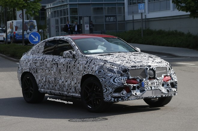 Mercedes Benz Mlc Spied 04 Front Three Quarter1 660x438