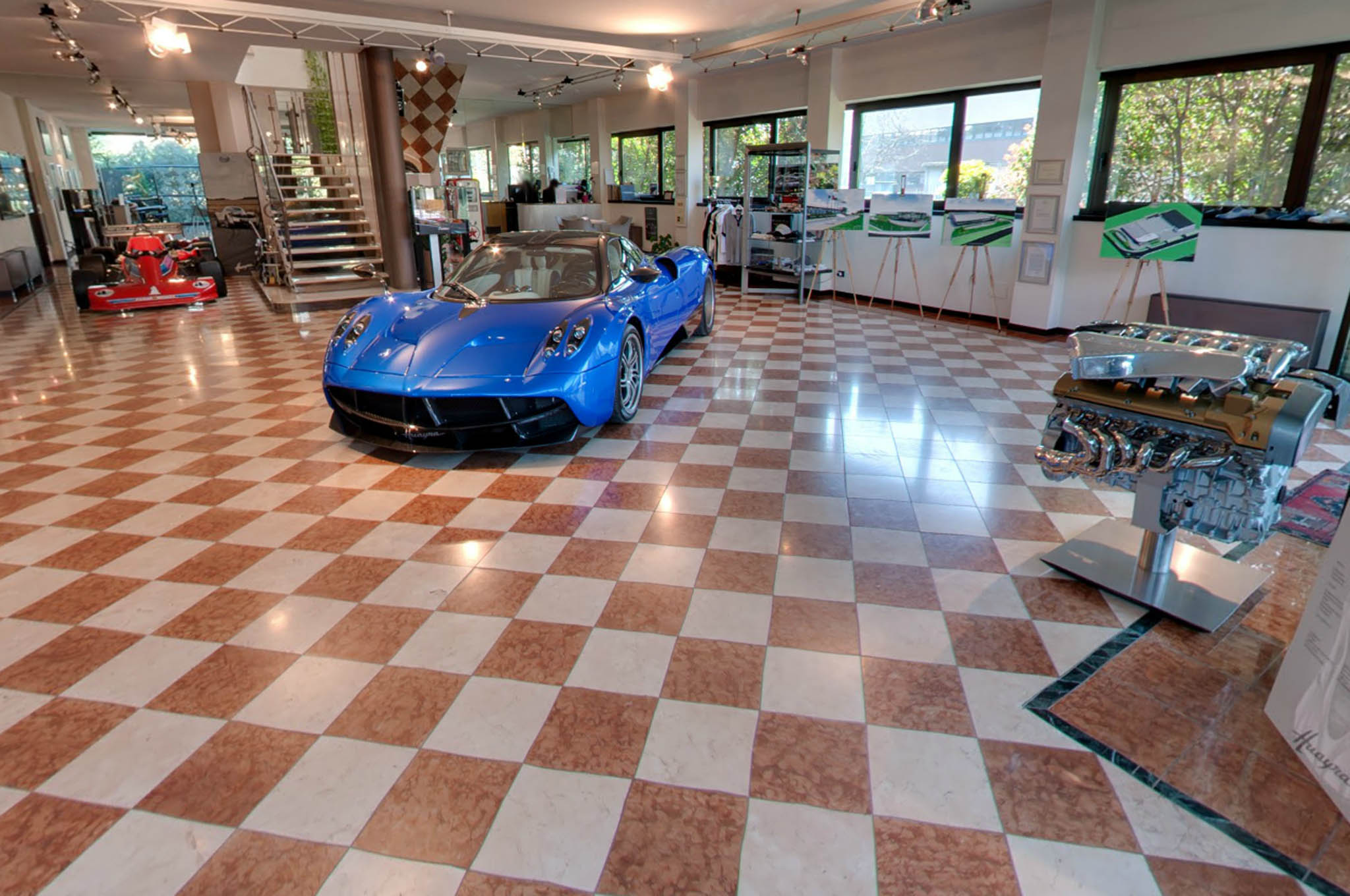 Pagani Factory Google Street View 11