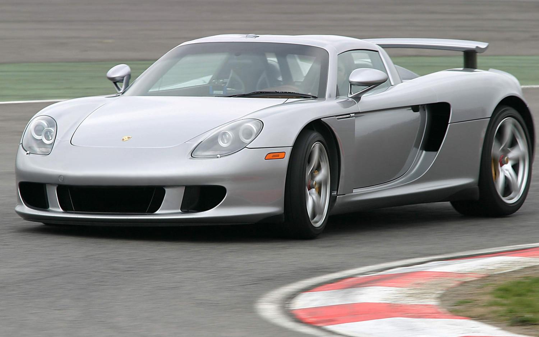 2006 Porsche Carrera GT Rear Three Quarters Track1