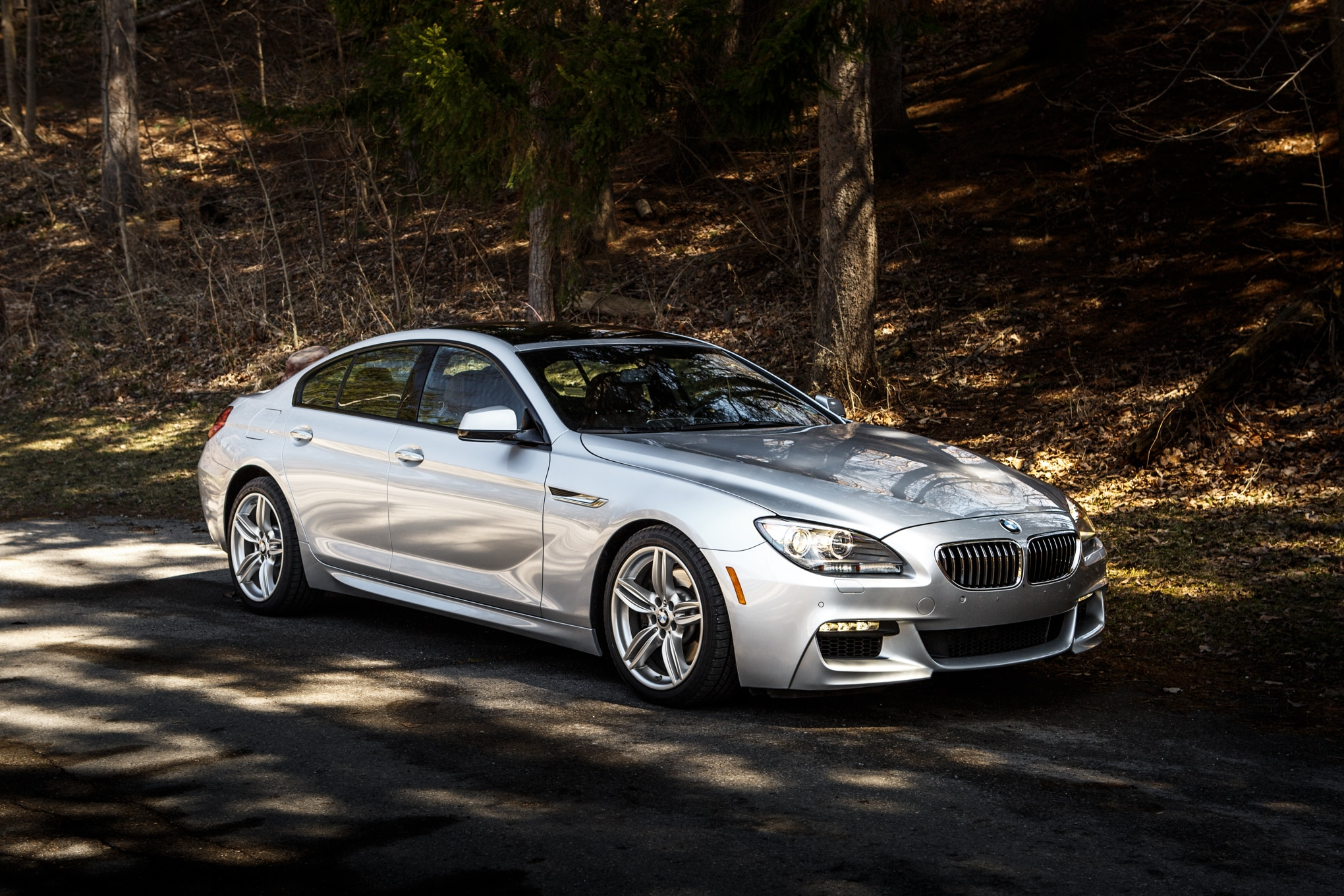 2014 BMW 640i Gran Coupe 19 Front Three Quarter1
