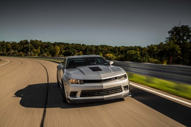 2014 Chevrolet Camaro Z28 Front End In Motion1 660x440