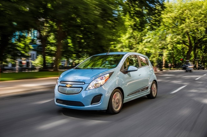 2014 Chevrolet Spark EV Front Left Side View1 660x438