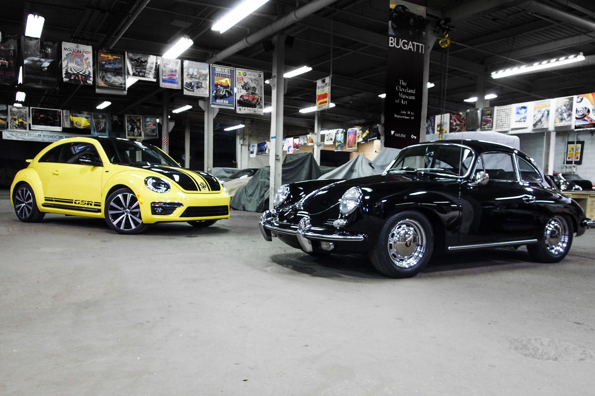 2014 Volkswagen Beetle GSR And 1964 Porsche 356SC1
