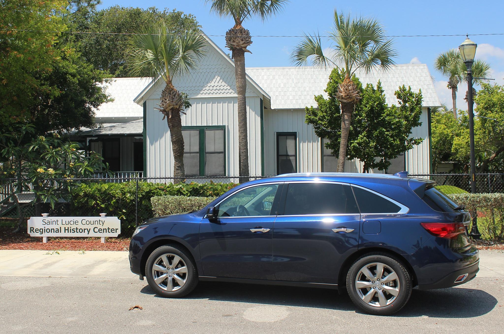 2014 Acura Mdx Rear Three Quarter 21