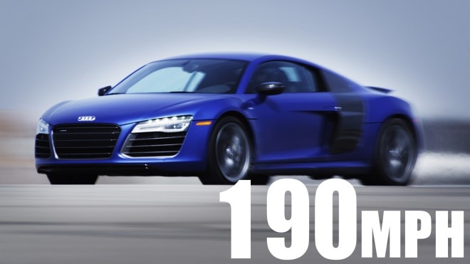 2014 Audi R8 V10 Plus 190 Mph Video Still 660x371