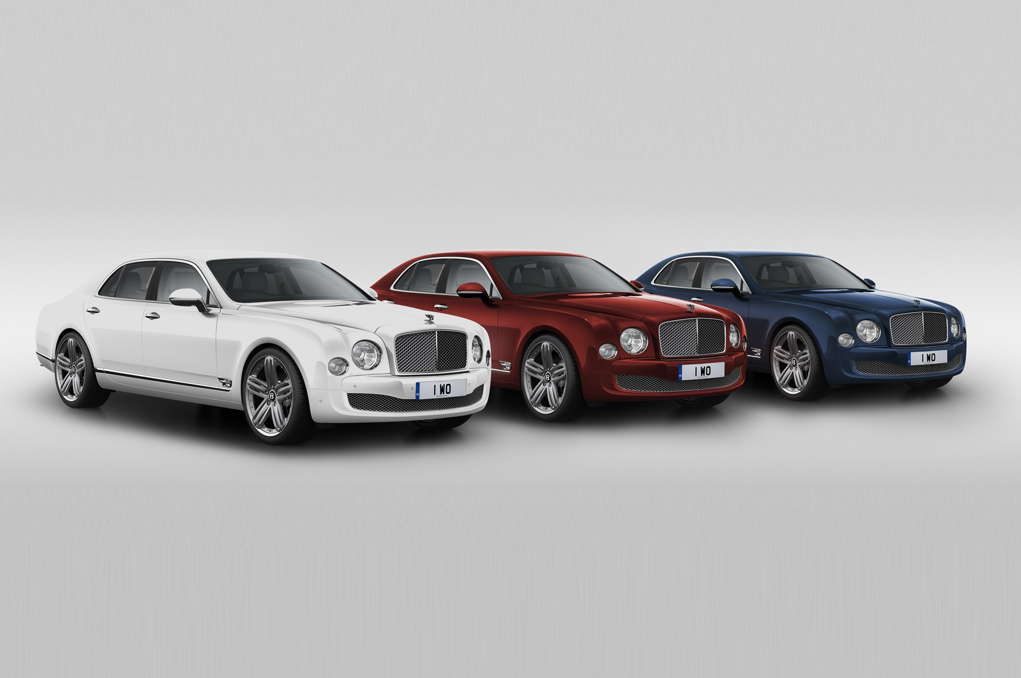 2014 Bentley Mulsanne 95 Trio Front Three Quarter