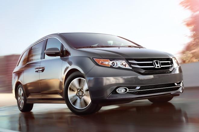 2014 Honda Odyssey Three Quarters View 11 660x440
