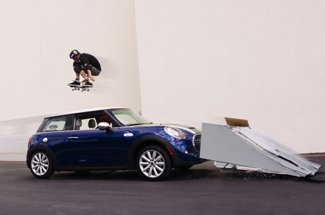 2014 Mini Cooper S Tony Hawk Jump1 660x438