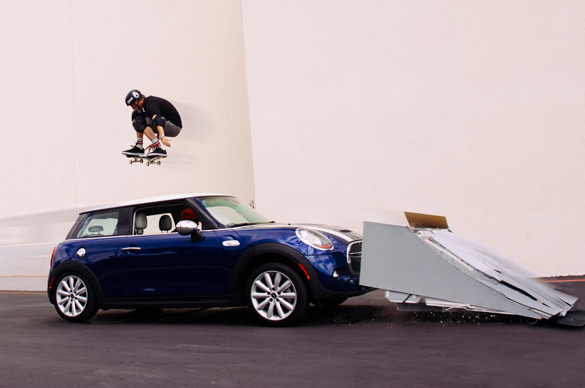2014 Mini Cooper S Tony Hawk Jump1