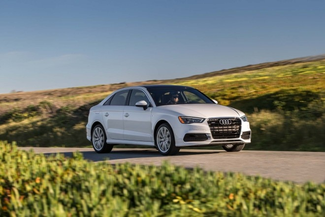 2015 Audi A3 20T Front Three Quarter In Motion 02 660x440