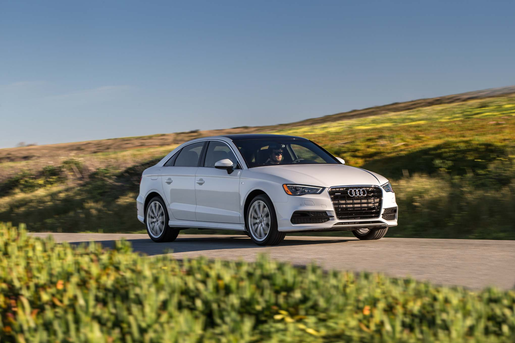 2015 Audi A3 20T Front Three Quarter In Motion 02