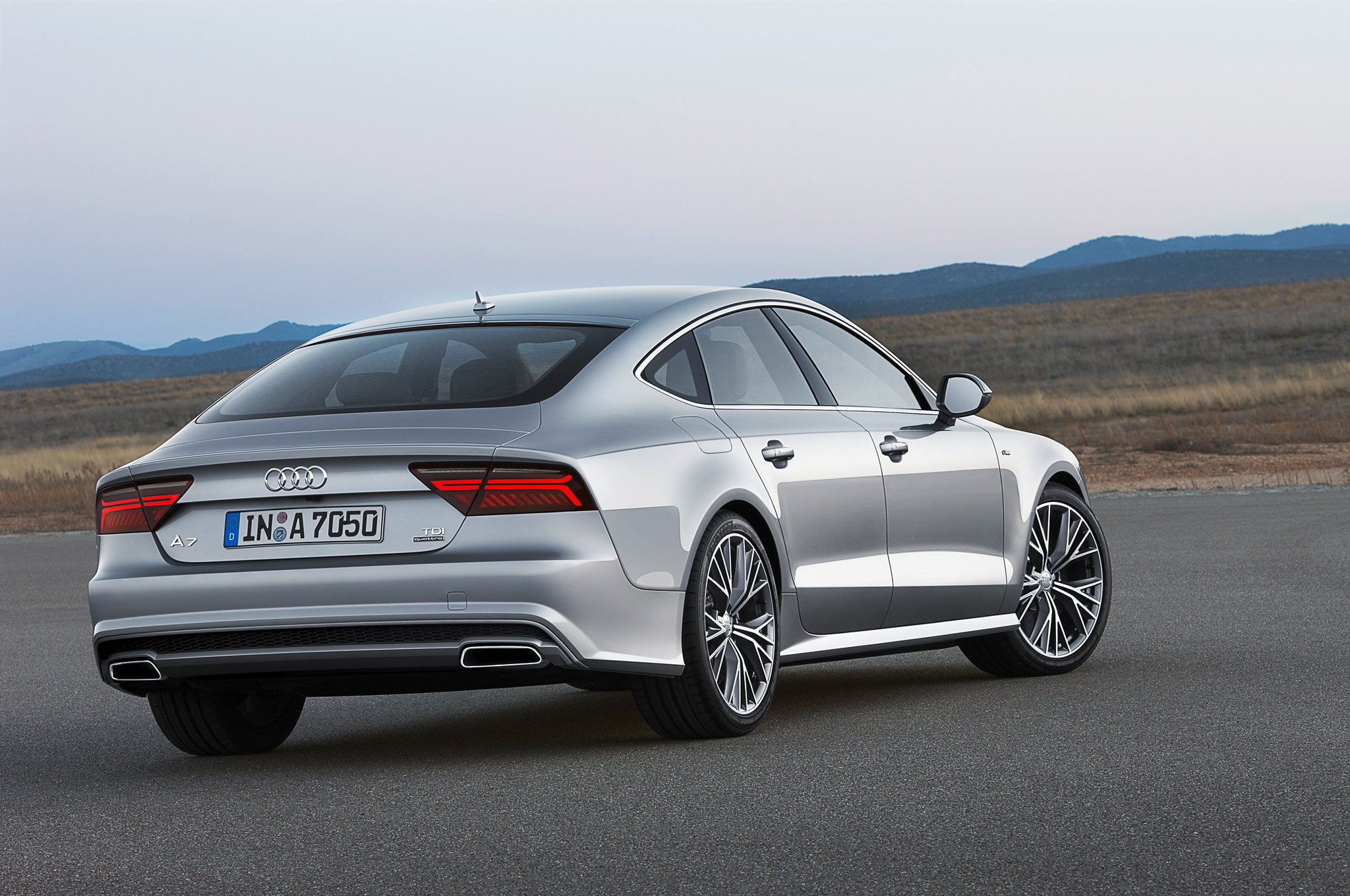 facelifted 2015 audi a7 revealed for europe automobile magazine. Black Bedroom Furniture Sets. Home Design Ideas