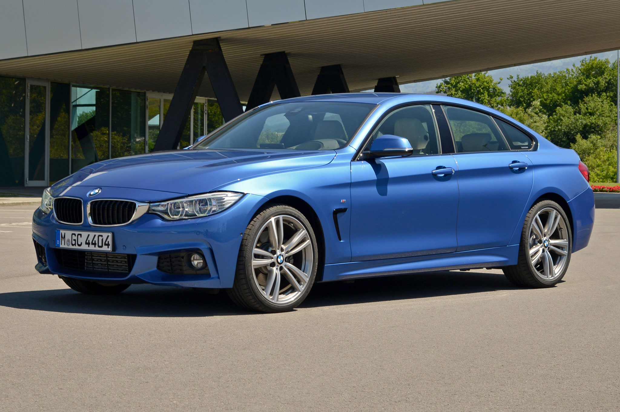 2015 bmw 428i gran coupe review automobile magazine. Black Bedroom Furniture Sets. Home Design Ideas