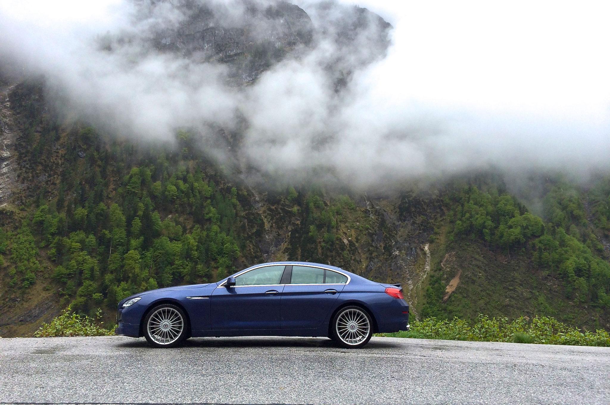 2015 BMW Alpina B6 XDrive Gran Coupe Side View2
