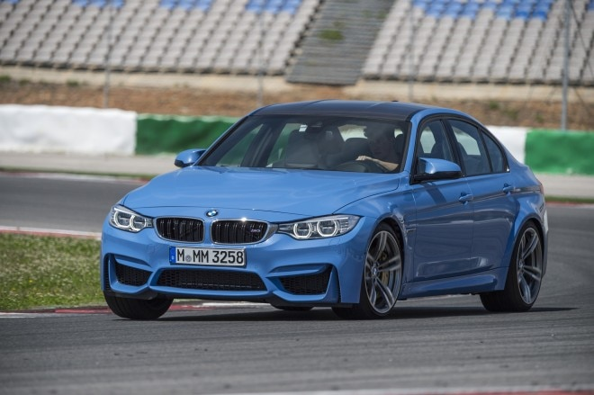 2015 BMW M3 Sedan Front Three Quarter Turn1 660x439