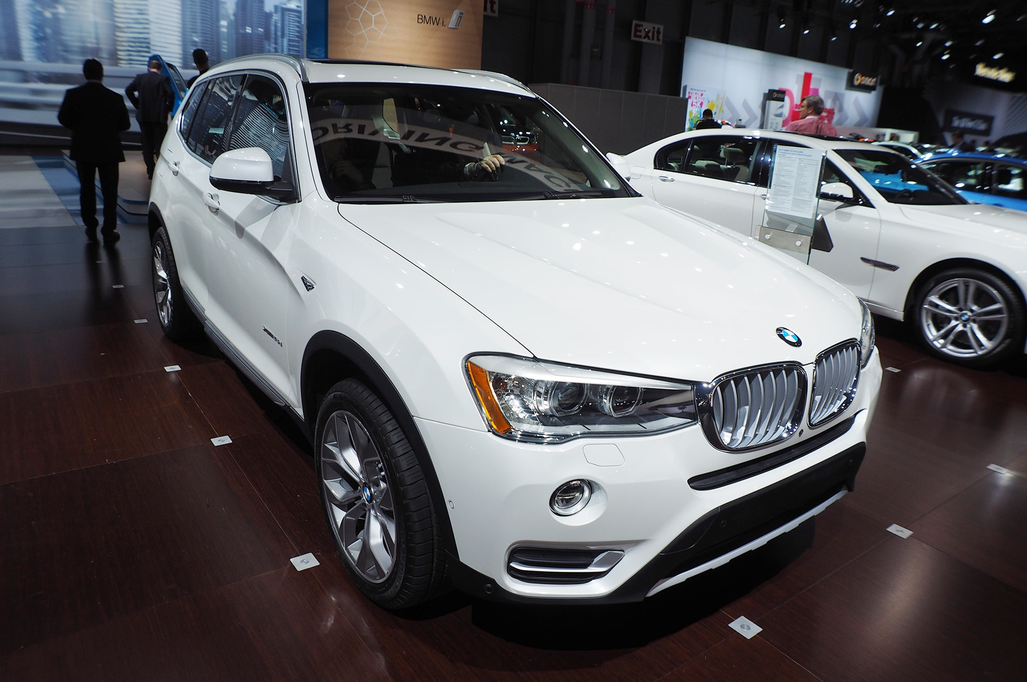 2015 bmw x3 xdrive28d gets 34 mpg highway automobile. Black Bedroom Furniture Sets. Home Design Ideas
