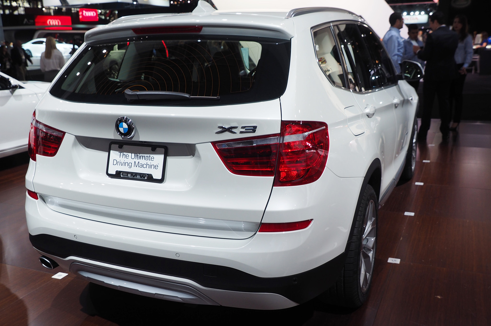 2015 bmw x3 xdrive28d gets 34 mpg highway automobile magazine. Black Bedroom Furniture Sets. Home Design Ideas