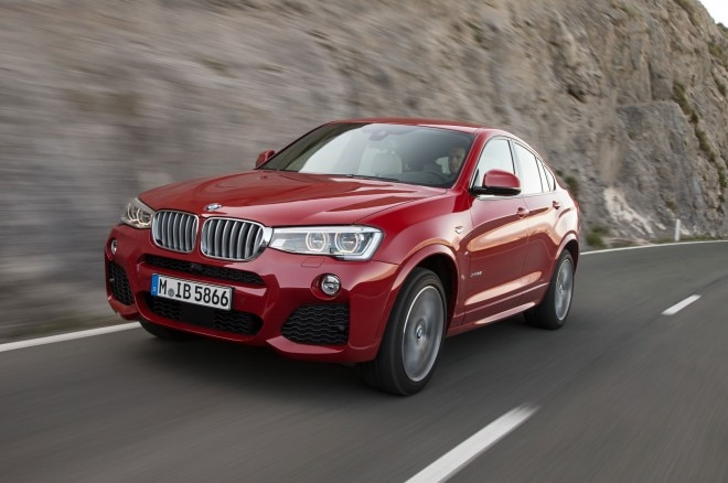 2015 BMW X4 Front Side View Down Road1 660x438