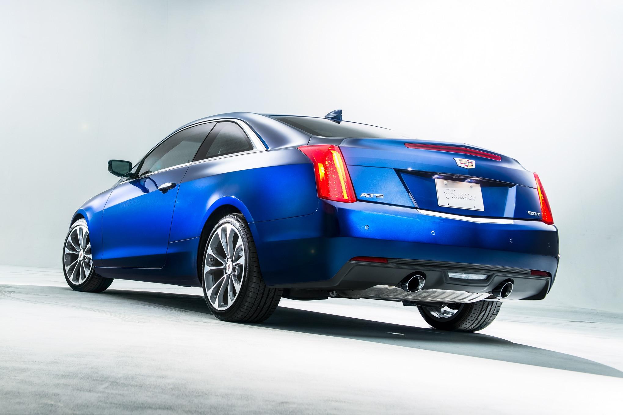 2015 Cadillac ATS Coupe Rear View1