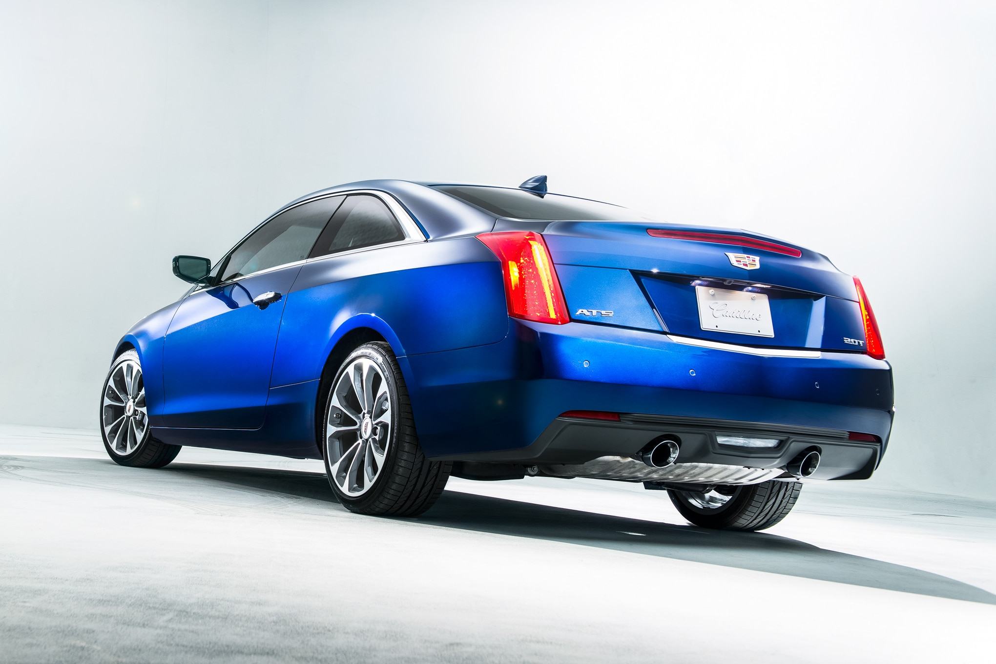 2015 Cadillac ATS Coupe Rear View1