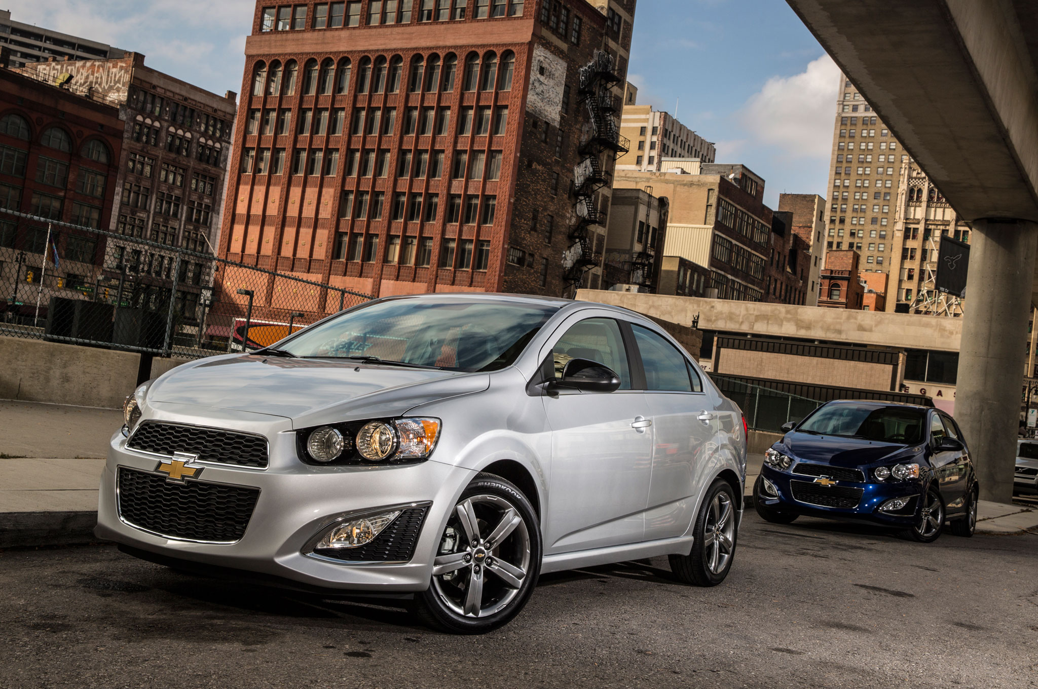 2015 Chevrolet Sonic RS Sedan And Hatch1