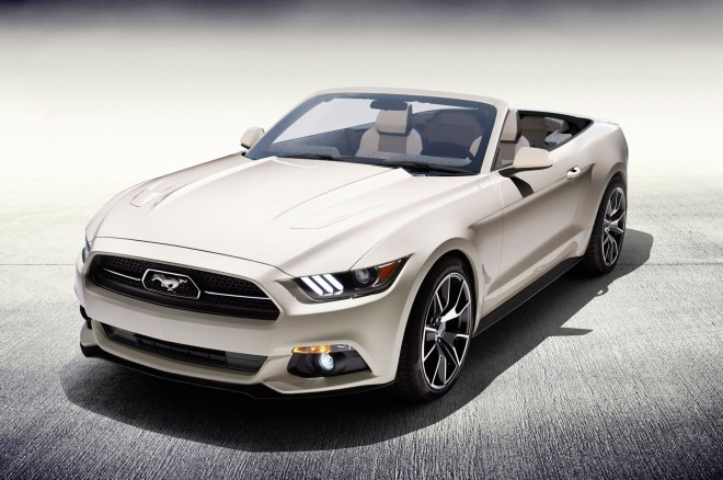 2015 Ford Mustang 50 Years Convertible For Raffle 660x438
