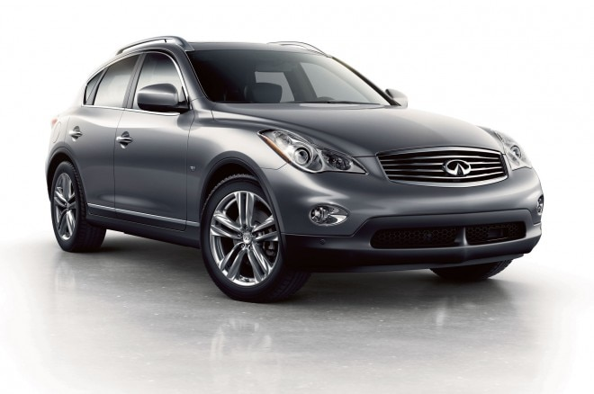 2015 Infiniti QX50 Front Side View 660x438