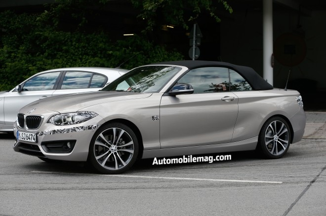 2015 Bmw 2 Series Convertible Spied Front Three Quarter 21 660x438