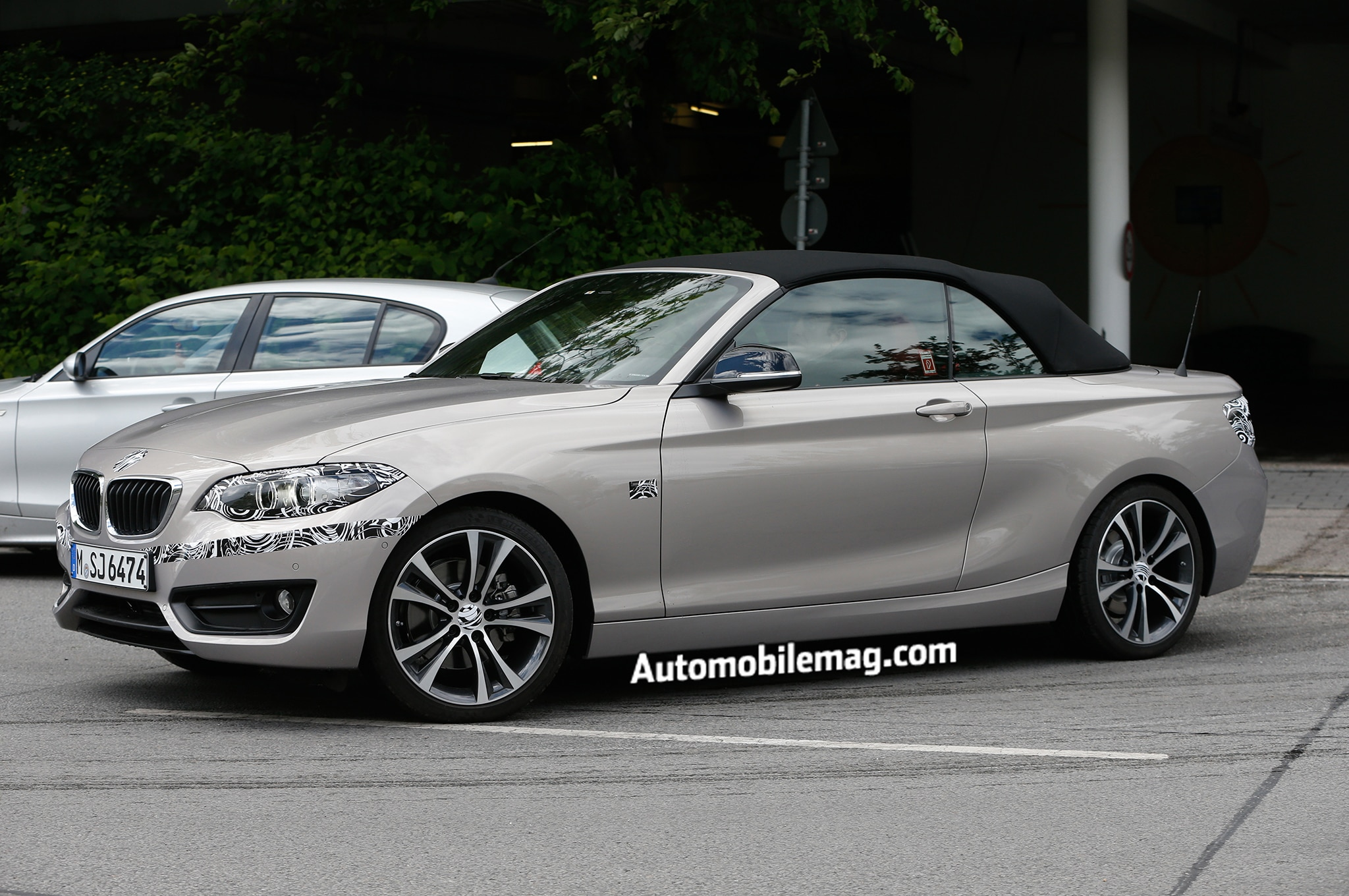 2015 Bmw 2 Series Convertible Spied Front Three Quarter 21