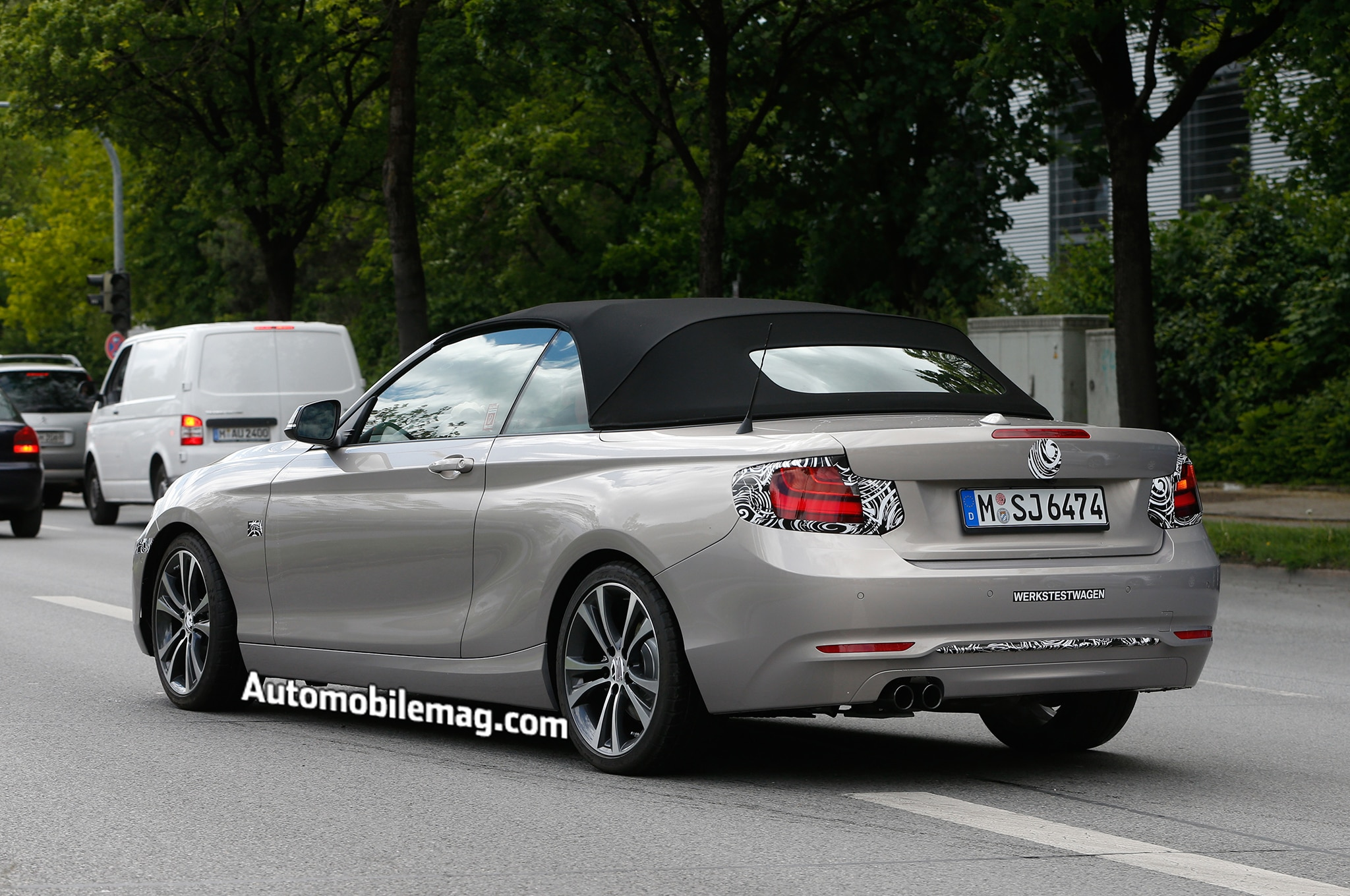 2015 Bmw 2 Series Convertible Spied Automobile Magazine