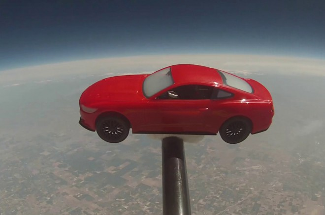 2015 Ford Mustang Model In Space1 660x438