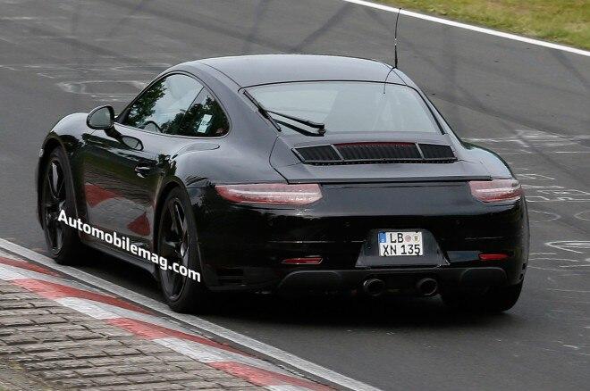 2015 Porsche 911 Gts Spied Rear Three Quarter 11 660x438