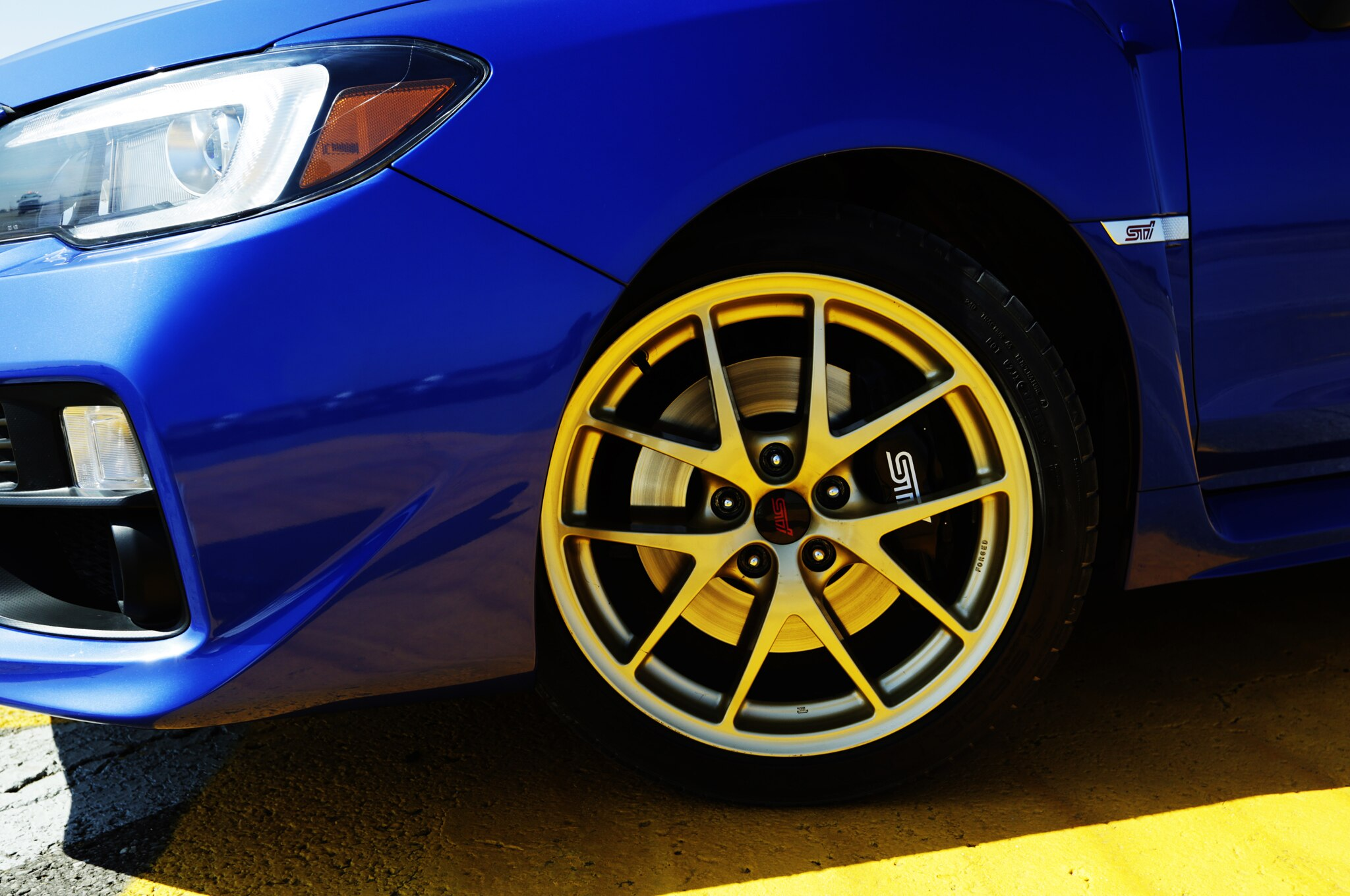 Subaru Crosstrek Sti Wheels >> 2015 Subaru WRX STI: Around the Block - Automobile Magazine