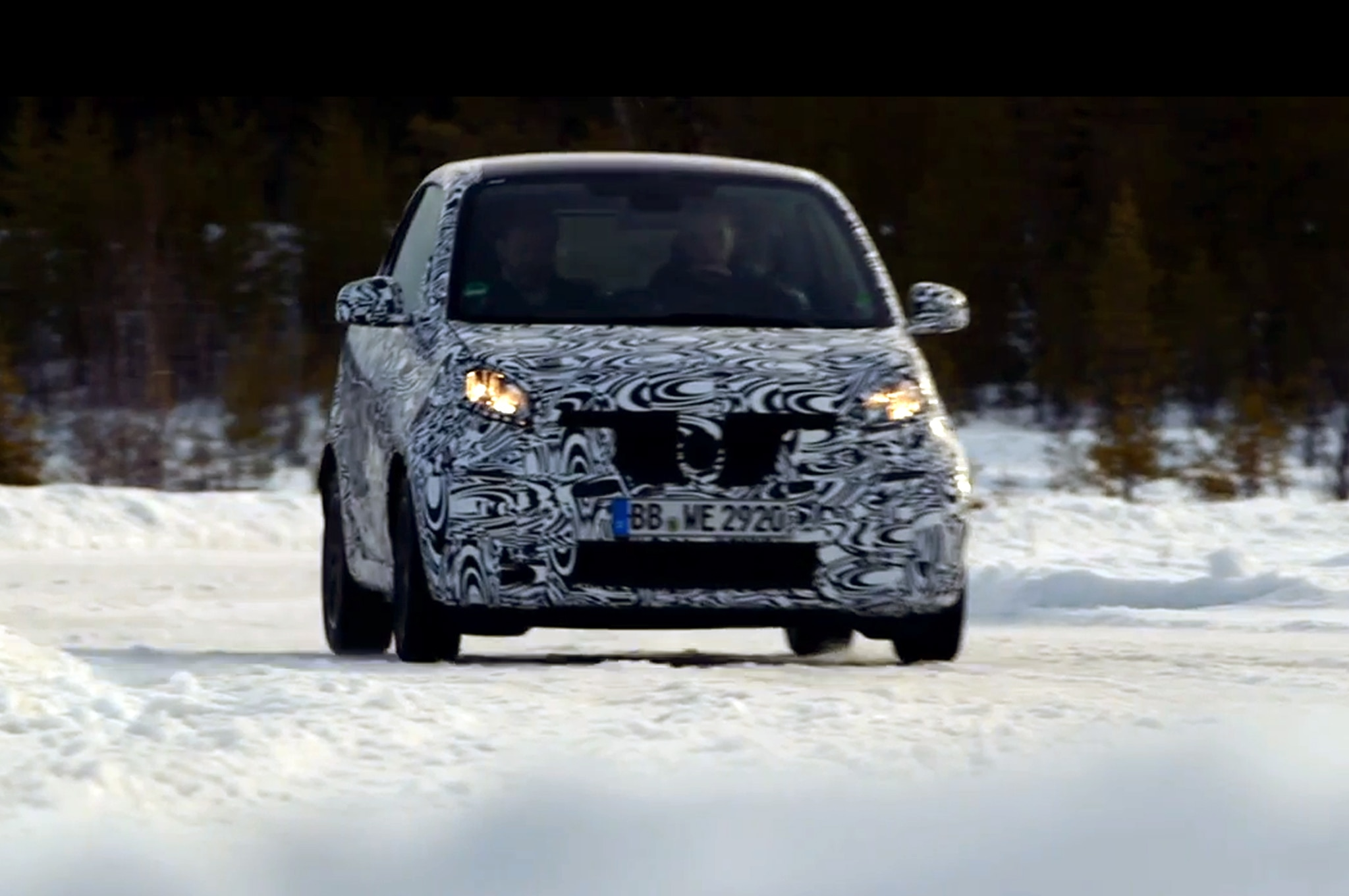 2016 Smart Fortwo Video Still Sweden