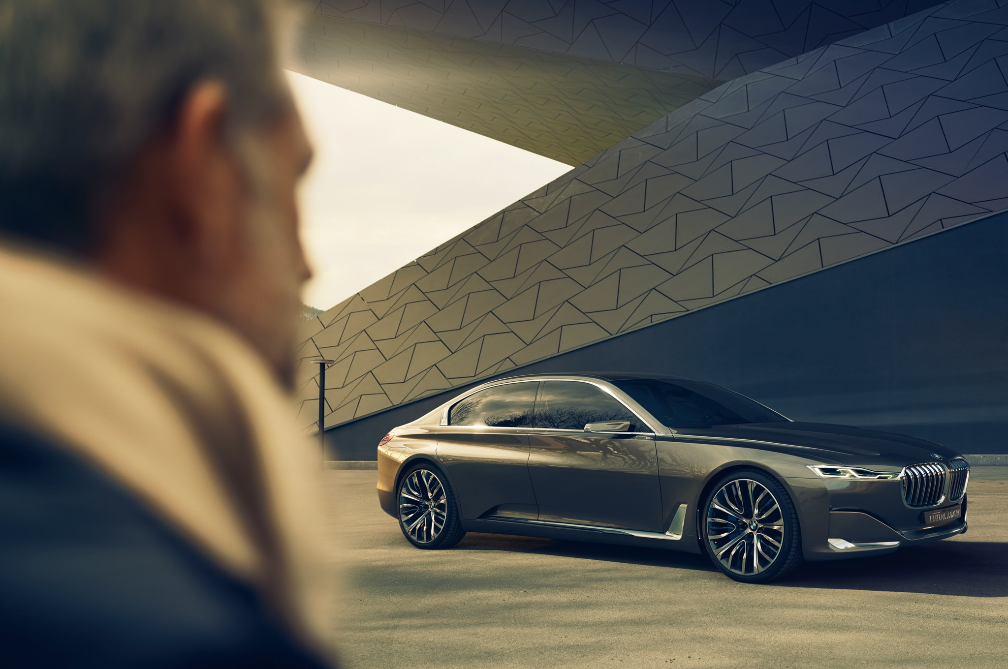 BMW Vision Future Luxury Concept Front Three Quarter1