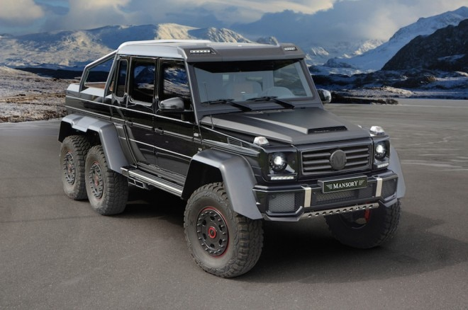 Mansory Mercedes Benz G63 AMG 6x6 Front Three Quarters1 660x438