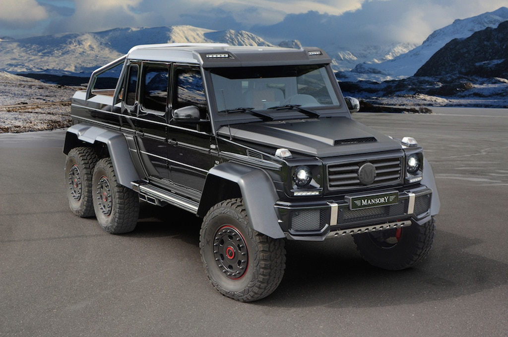 Mansory Mercedes Benz G63 AMG 6x6 Front Three Quarters1