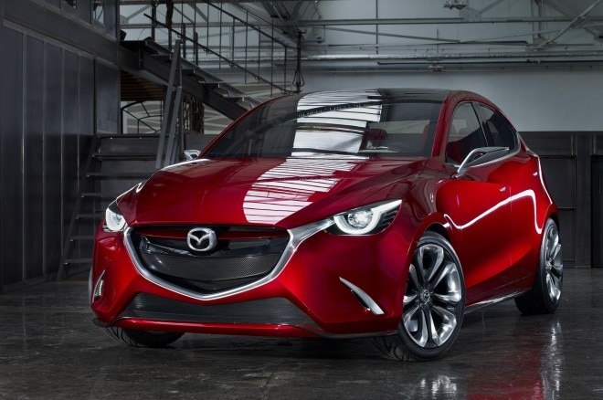 Mazda Hazumi Concept Front Three Quarters 021 660x438
